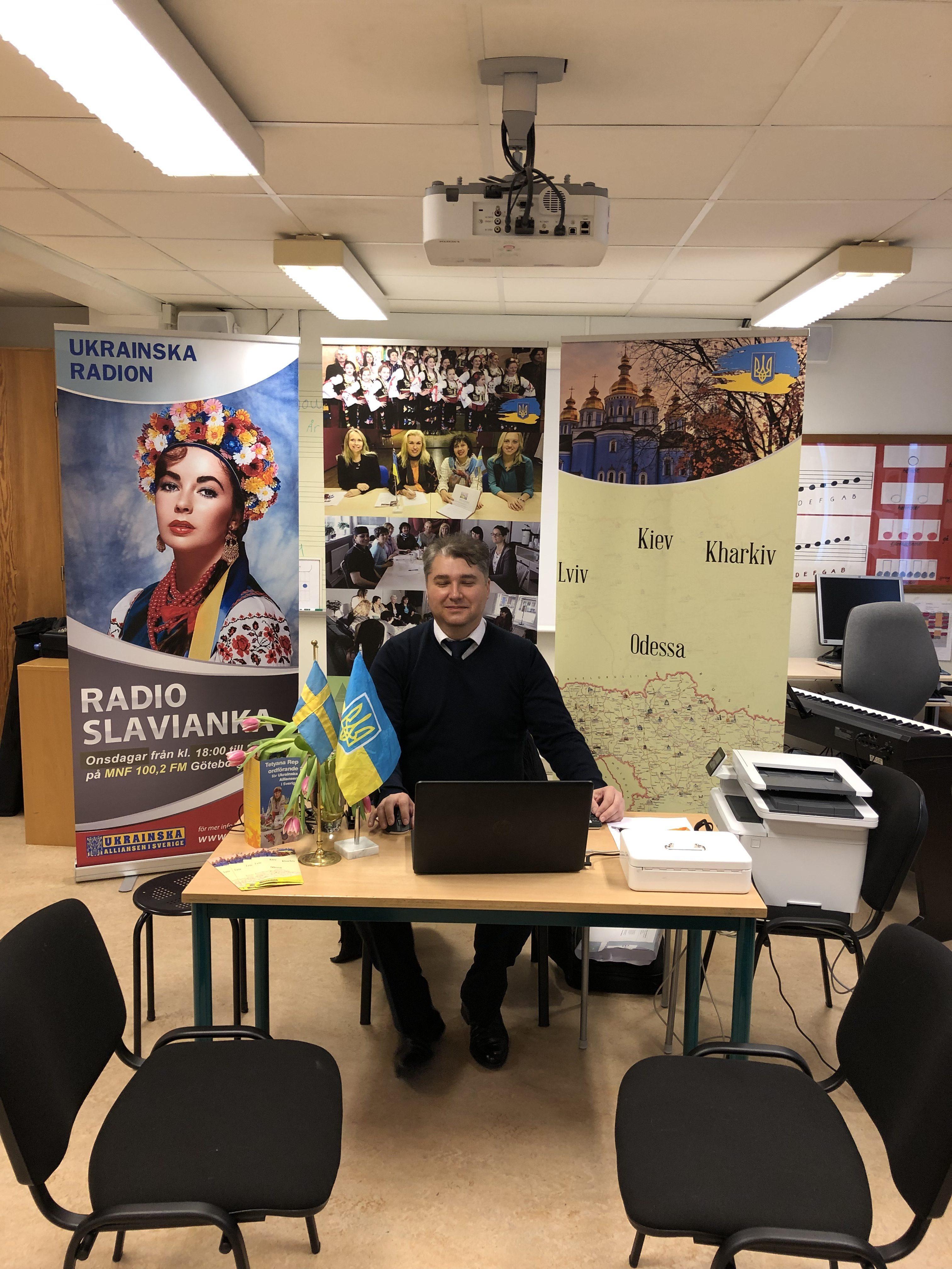 Besök från konsulatet 17 mars