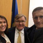 Möte med Ukrainas utrikesminister och ambassaden