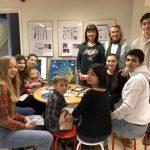Klimatinspiration-utställning/workshop på Askims skola den 24/2 2019